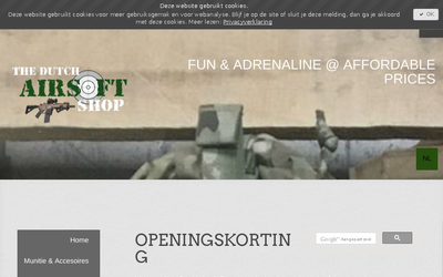 The Dutch Airsoft shop website