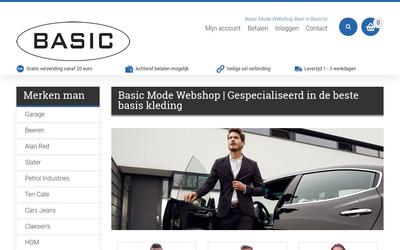 Basic Mode Webshop website