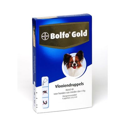 Bolfo Gold 40 Hond 0 4 Pipet