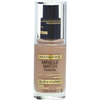 Max Factor Miracle Match Foundation 79 Honey Beige