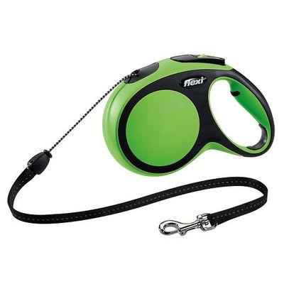 Flexi New Comfort Hondenriem Koordlijn Groen M 8M