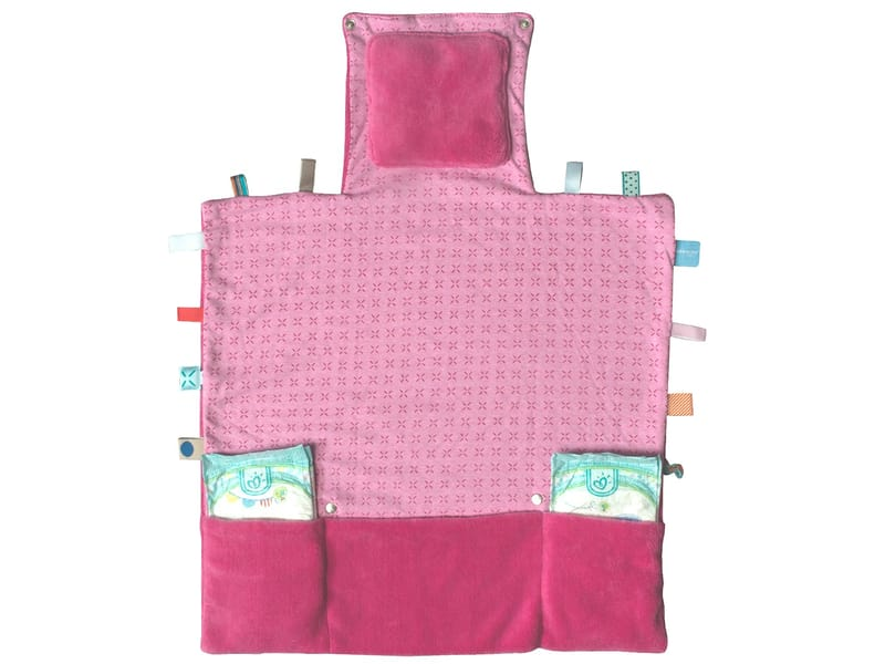 Snoozebaby Easy Changing Funky Pink