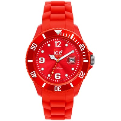 Red Unisex Horloge mm Ice