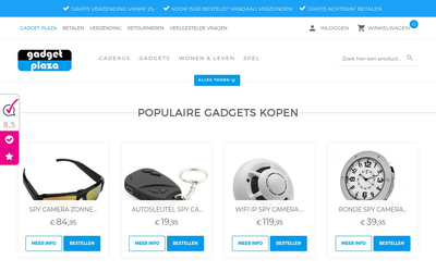 Gadget-Plaza website