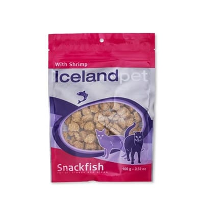 Icelandpet Treat Garnaal Kat 100 Gr
