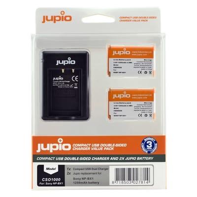 Jupio 2x Battery Charger USB