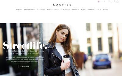 Loavies website