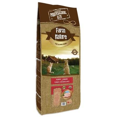 Farm nature turkey / chicken with rice junior