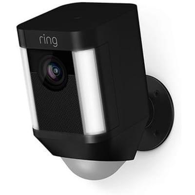Ring Spotlight Cam Zwart