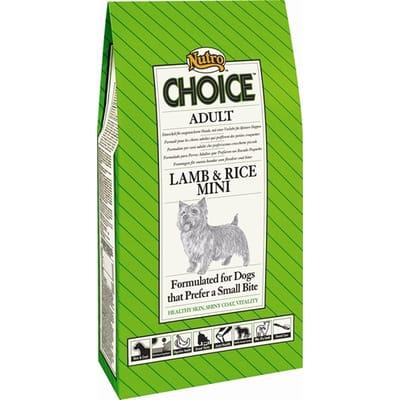 Nutro Choice Adult Mini Lam Rijst 2 kg