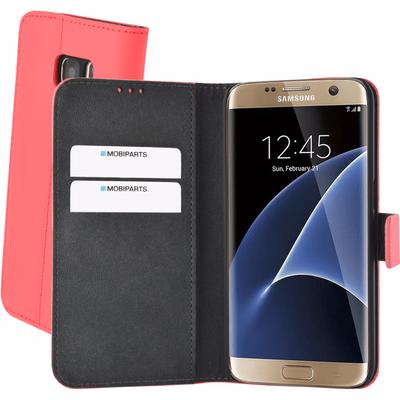 Mobiparts Premium Wallet Case Samsung Galaxy S7 Peach Pink
