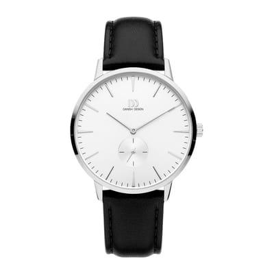 Danish Design IQ12Q1250 horloge heren zwart edelstaal