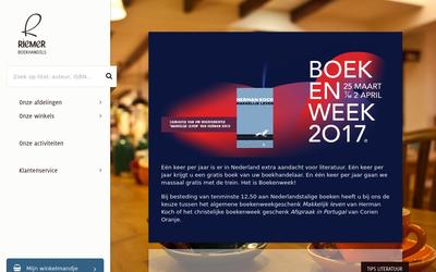 Boekhandel Riemer website