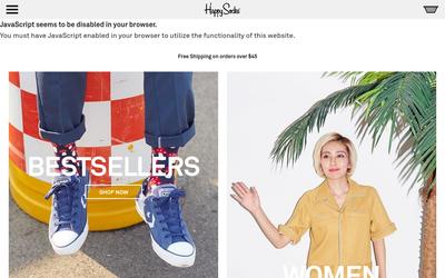 Happy Socks website