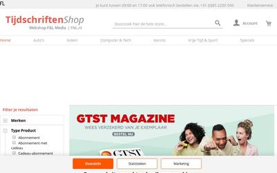 f&l tijdschriften shop website