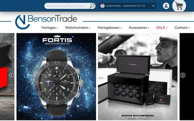 Bensontrade website
