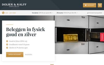 Doijer & kalff b.v. website