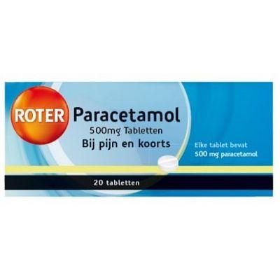 Roter paracetamol