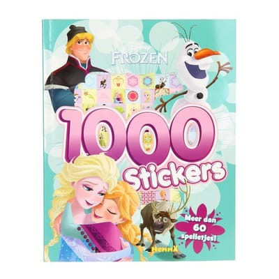 Disney Frozen Stickerboek