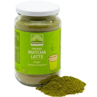 Mattisson Matcha Latte Gember Ceylon kaneel