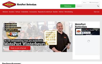 Motoport Rotterdam B.v. website
