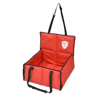 Bobby autostoel lets go rood