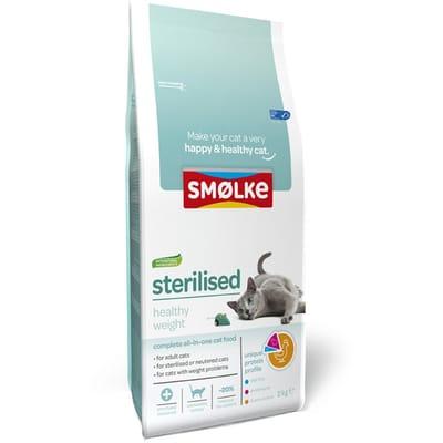 Smolke Kattenvoer Sterilised 2 kg