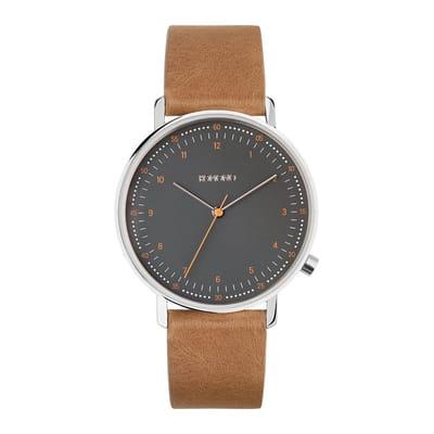 Komono Crafted Lewis Cigar horloge dames en heren bruin KOM