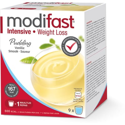 Modifast Intensive Pudding Vanille