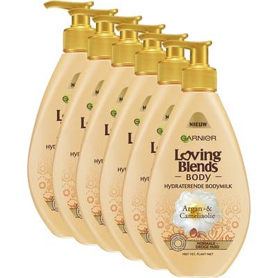 Garnier Loving Blends Body Cameliaolie Voordeelverpakking Argan
