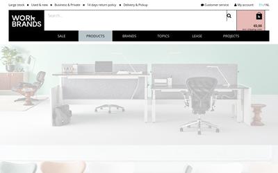 Workbrands website