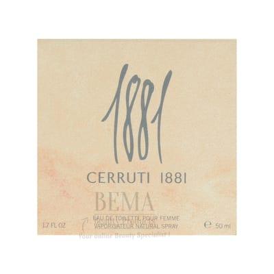 Cerruti 1881 pour femme Eau de toilette 50 ml