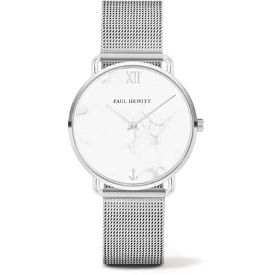 Paul Hewitt Miss Ocean Line Horloge Zilverkleurig 33 mm
