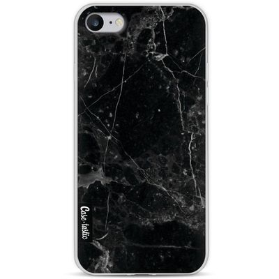 Casetastic Softcover Apple iPhone 8 Black Marble