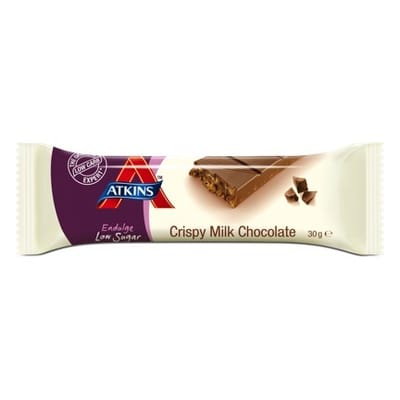 Atkins Endulge Reep Crispy Milk Chocolate