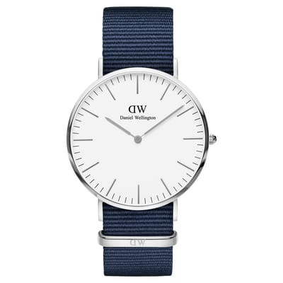 Daniel Wellington Classic Bayswater DW00100276 Horloge 40 mm