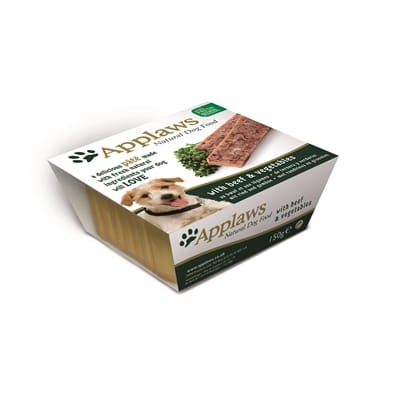 Applaws dog pate beef 150 gr