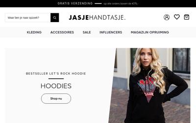 Jasjehandtasje website