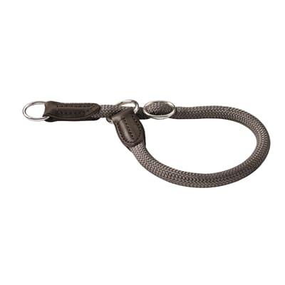 Hunter halsband freestyle met stop grijs