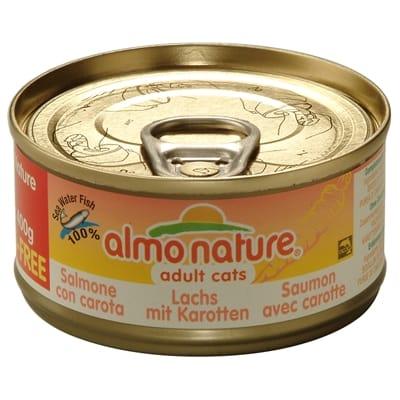Almo Nature 70 Zalm Wortel gr