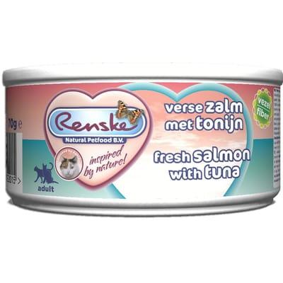 Renske Tonijn Zalm Kat 70 gr