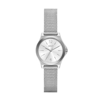 DKNY Parsons NY2488 zilver Horloge