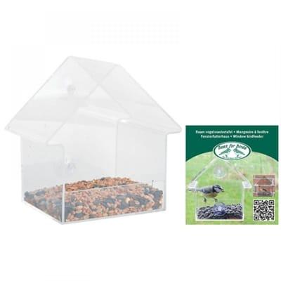 Best for birds raamvoederhuis acryl