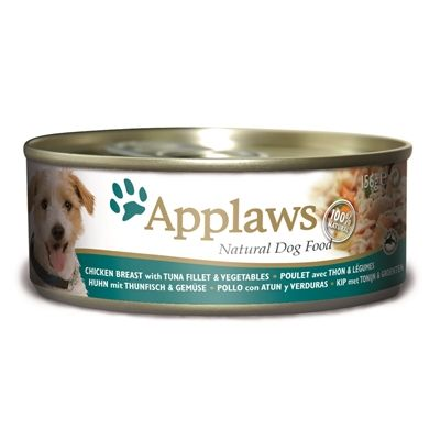 Applaws dog blik chicken / tuna / rice