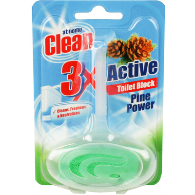At Home Clean Toiletblok 40g Pine Power