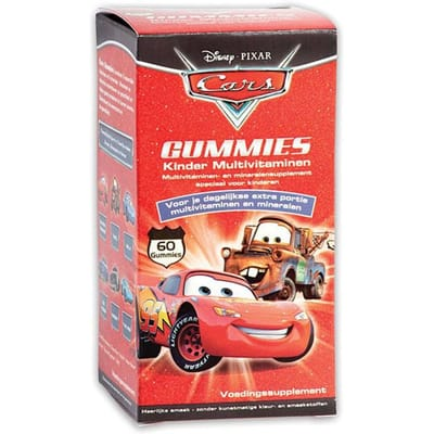 Disney Kinder Multivitaminen Cars