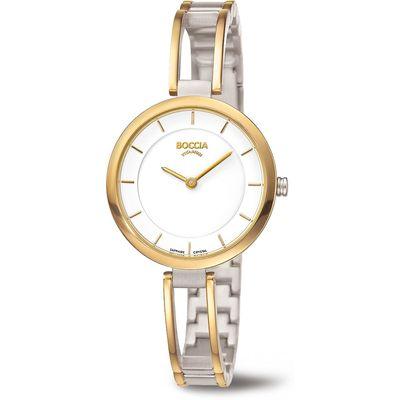 Boccia 3264-03 Dames horloge