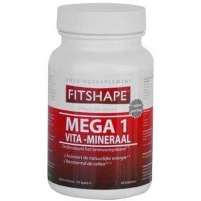 Fitshape Mega 1 Vita-Mineraal