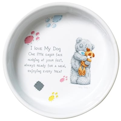 Me to you voerbak hond keramiek