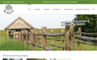 De Zomereik website